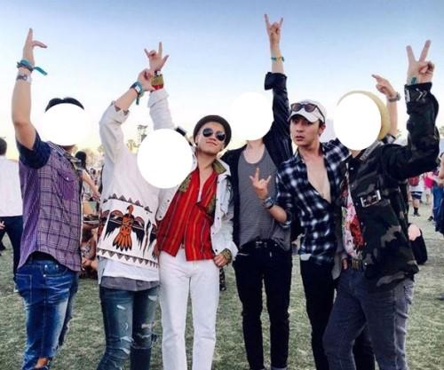 BIGBANGのV.I(左)と歌手のロイ・キム(右)(写真=ロイ・キムのインスタグラム)