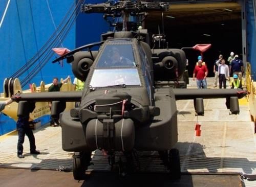 アパッチ・ガーディアン・ヘリコプター(写真=防衛事業庁)
