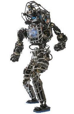 ビッグドッグの初期モデルである巨大な4足ロボット「LS3」。(写真=ボストン・ダイナミクス)