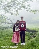 女優のク・ヘソン(左)と俳優の庵・ジェヒョン(写真提供=marie claire)