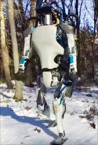 ボストン・ダイナミクスの二足歩行ロボット「アトラス」