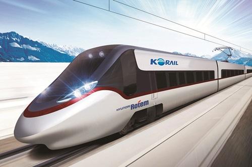 韓国型動力分散式高速列車EMU-250(写真=KORAIL)