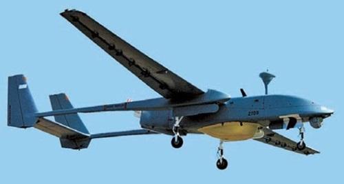 イスラエルの無人偵察機「ヘロン(Heron)」