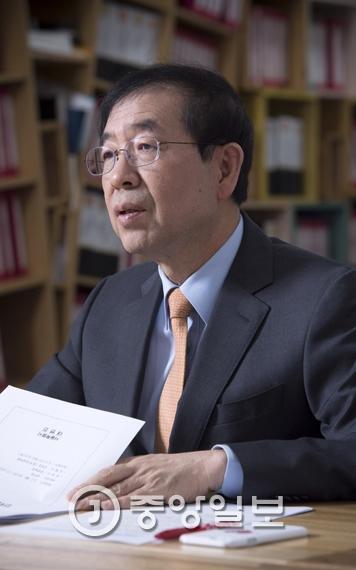 朴元淳市長
