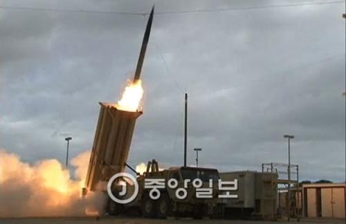 THAAD(高高度ミサイル防衛) 写真=中央フォト