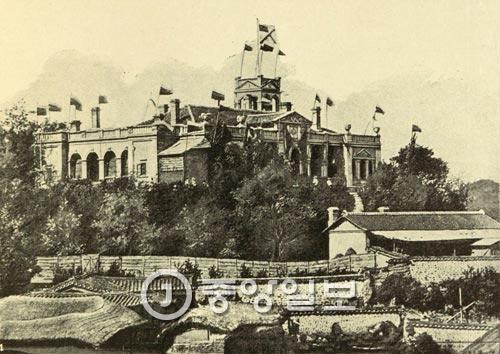 旧韓末のロシア公使館(中央フォト)