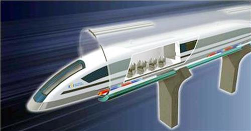UNISTが開発に入る「ハイパーループ」の列車コンセプトイメージ(イメージ提供=UNIST)