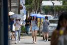 連日30度近い暑さが続くソウルでは今、日傘が注目のアイテムとして急浮上。街中の至るところで日傘をさす若い女性の姿を目にします。