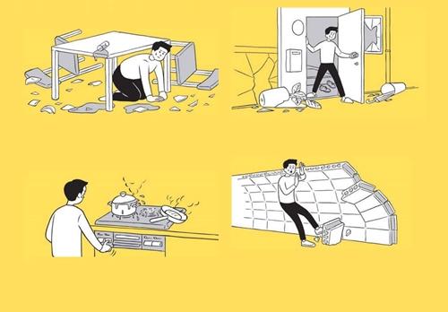 地震発生時の日本の避難マニュアル『東京防災』
