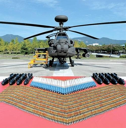 世界最強の攻撃ヘリコプターである「アパッチ・ガーディアン」(AH-64E)