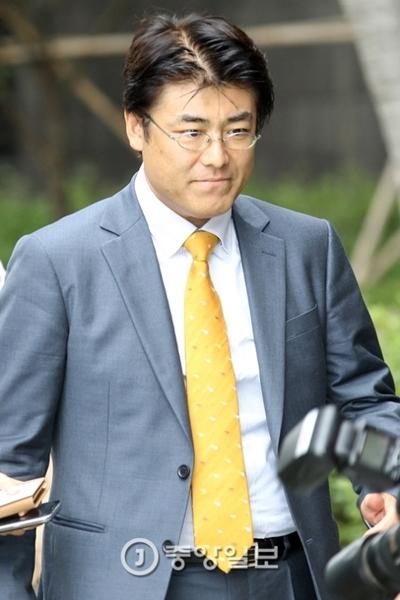 産経新聞の加藤達也前ソウル支局長(中央フォト)