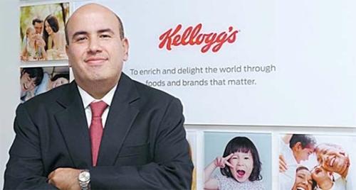 ケロッグ・アジア太平洋代表のアミット・バンティ氏は「韓国で開発した製品を世界に輸出する」と明らかにした。(写真=ケロッグ)