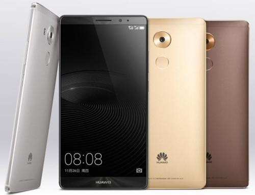 華為が今月公開したプレミアムスマートフォン「メイト9」。海外市場で好評を受けているという。 (写真=華為)