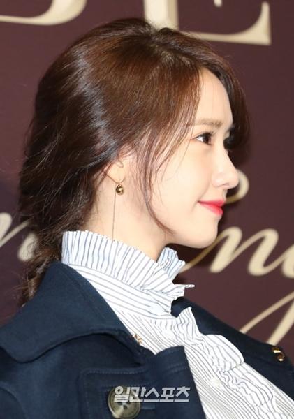 29日午後、ソウル江南区清潭洞で開かれたあるブランドのフォトイベントに登場した少女時代のユナ。