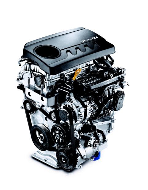 キャパ1.4ガソリンターボエンジン(写真=現代自動車)