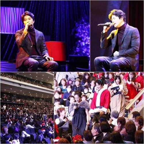 日本ファンミーティングツアー「Kwon Sang Woo The Stage 2016」の様子