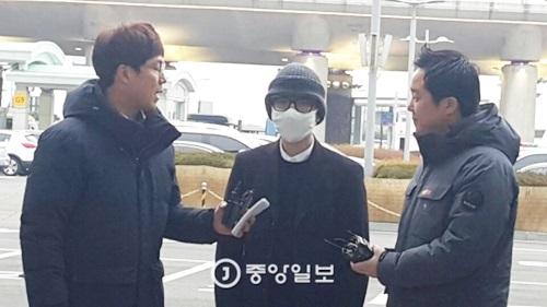今月20日に大韓航空機内で暴れ回ったイム氏(34)