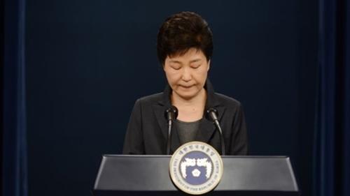 朴槿恵(パク・クネ)大統領(写真=青瓦台写真記者団)