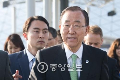 潘基文元国連事務総長