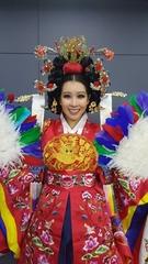 ミス・ユニバース韓国代表のキム・ジェニさん(ミス・ユニバースコリアのフェイスブック)