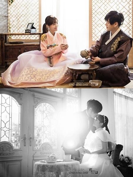 歌手ムン・ヒジュンとソユルのウェディング写真(写真提供=KOENエンターテインメント)
