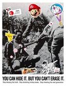 イ・ジェソクの独島広告(写真提供=慶尚北道)