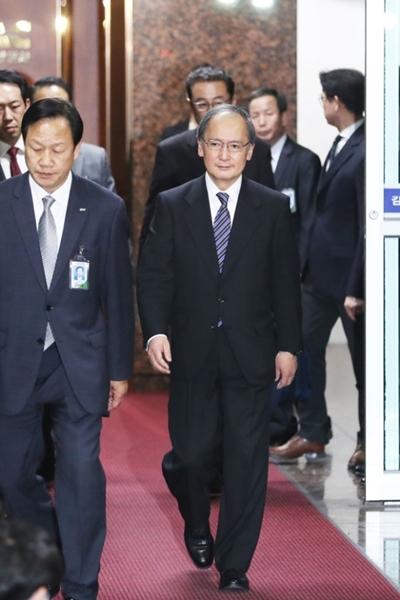 長嶺安政駐韓日本大使。