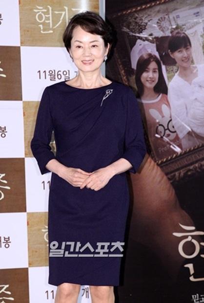 女優キム・ヨンエ。