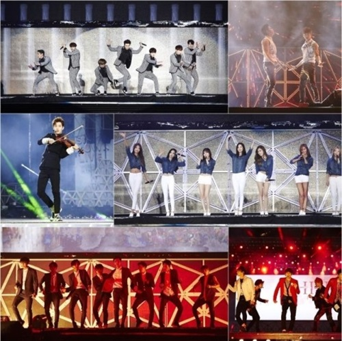 SMTOWN LIVE IN TAIWANの様子