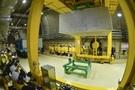 慶州の中・低レベル放射性廃棄物処理場は地上から運ばれた放射性廃棄物を地下80メートルの貯蔵庫のサイロに処分する。