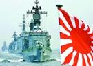 旭日旗を掲げた海上自衛隊艦艇。(写真=中央フォト)