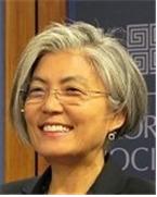 外交部長官に指名された康京和(写真=青瓦台)