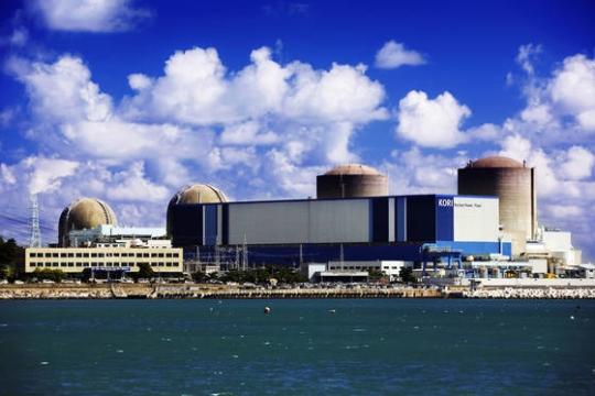 19日の廃炉を控えた古里原子力発電所(写真=釜山市)