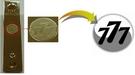 世界90カ国余りに輸出されるツメ切り製品スリーセブンには造幣公社が開発した潜像イメージ技術が適用された。(写真=韓国造幣公社)