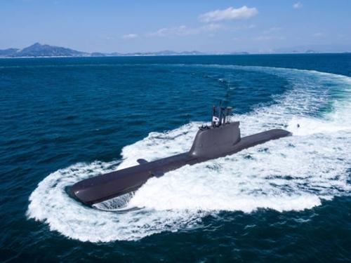 6隻目の張保皐II級(1800トン級)潜水艦「柳寛順(ユ・グァンスン)」が10日、海軍に引き渡された。(写真=防衛事業庁)