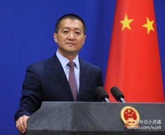 中国の陸慷外交部報道官(写真=微博)