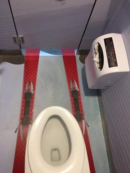 平昌サービスエリアのお手洗い。(写真=オンラインコミュニティ)