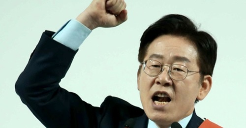 李在明城南市長。