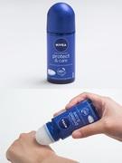 スキンケア商品でお馴染みの「NIVEA(ニベア)」。韓国ではデオドラント商品の種類も豊富です。「NIVEA デオドラントロールオン プロテクトアンドケア」(8,200ウォン)は、日本で「NIVEAの青缶」として人気のニベアクリームと同じ成分を使用。ロールオンタイプは、お手入れ後の敏感な肌にも使えるように開発された、新商品です。