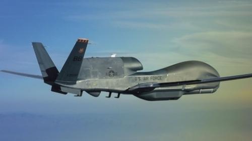 現存する最高の無人偵察機、米ノースロップ・グラマン社のRQ-4グローバルホーク。(写真=ノースロップ・グラマン)