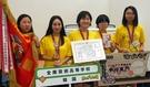 今月6日、307チームが参加した日本高校漫画選手権大会で最優秀賞を受賞した全南芸術高等学校の生徒たち。左からチョン・ユリム、ユン・イナ、ナム・スビン、イ・ジナ、パク・ソン。(写真=全南芸術高等学校)