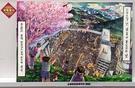全南芸術高校チームの本戦1ラウンド出品作。「維新」というテーマに合わせて韓国のロウソク集会を描いた。