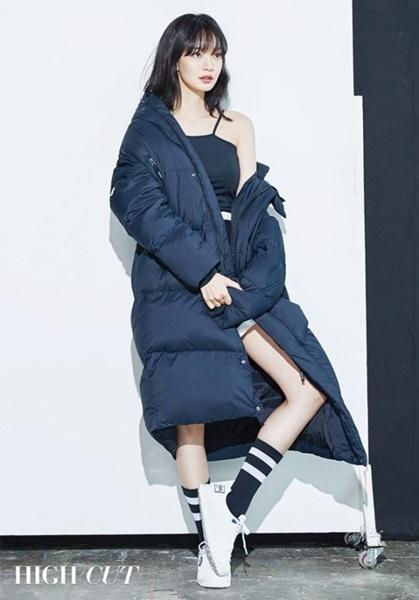 女優シン・ミナ。
