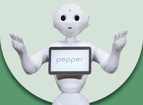ソフトバンクロボティクス(SBRH)が開発した「Pepper(ペッパー)」。