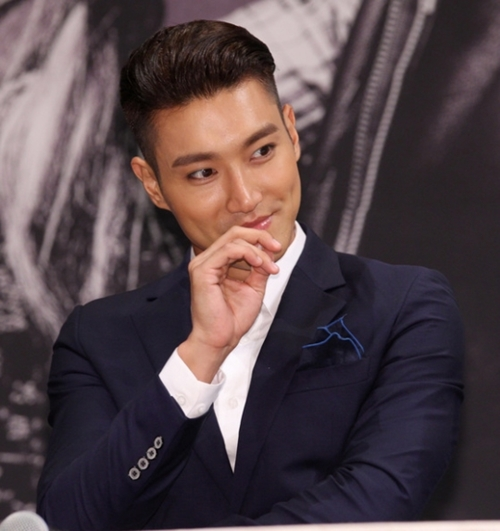 SUPER JUNIORのメンバーで俳優のシウォン。(写真=中央フォト)