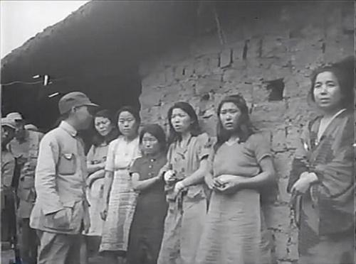 7月5日、公開された旧日本軍慰安婦映像の韓国人慰安婦。(写真=ソウル市・ソウル大人権センター)