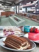 フランス語で「誰にも分からないこと」という意味を持つ「on ne sait jamais(オンヌセジャメ)」。「銭湯」を連想させる独特なインテリアはSNS映え間違いなし。有名店で長年勤務していた専属のパティシエが作り上げるケーキは、視覚も味覚も楽しませてくれます。