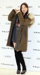 26日午後、ソウル蚕室ロッテ百貨店ワールドタワー店で開かれたファッションブランドのフォトイベントに登場した歌手ク・ハラ。