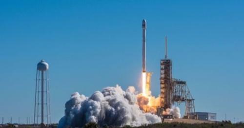 10月31日午前4時34分、米フロリダで打ち上げられたムグンファ衛星5A号。(写真=科学技術情報通信部)