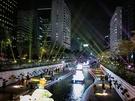 ソウルの秋夜を彩る恒例の「ソウルランタンフェスティバル」が、先週3日(金)からスタート!会場となった清渓川(チョンゲチョン)一帯は、幻想的なムードに包まれました。